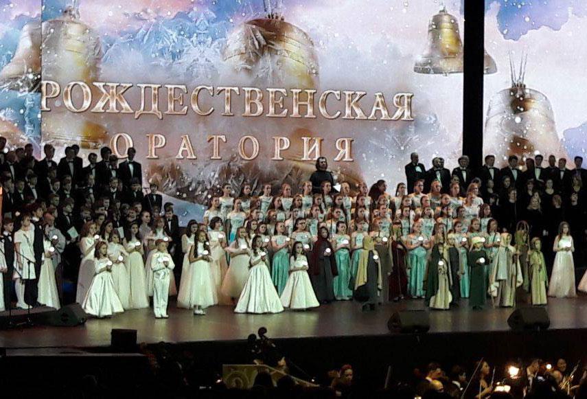 Рождественская оратория митрополита Илариона в Крокус Сити Холл АРДИП