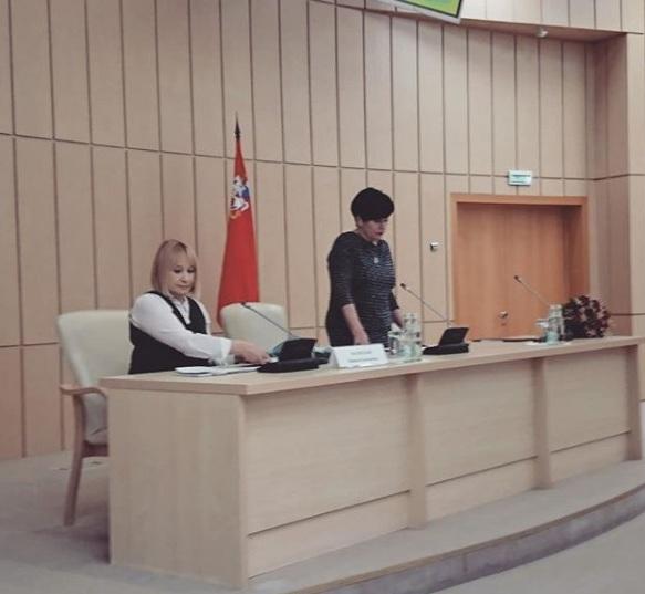 1 февраля 2019 г. Председатель АРДИП Инна Орлова приняла участие в заседании Общественного совета при Минсоцразвития МО АРДИП