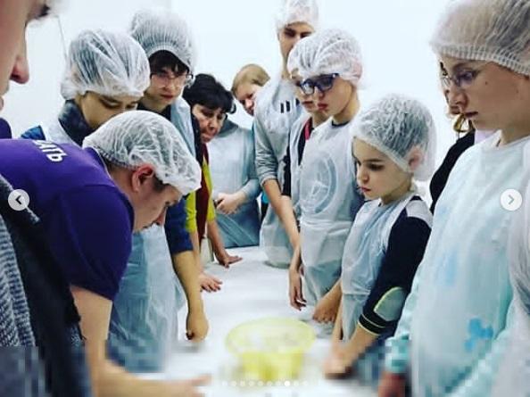 """""""Вкусная Лаборатория"""" для детишек АРДИП открылась 20 января АРДИП"""