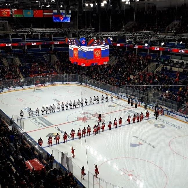 Семьи АРДИП посетили хоккейный матч АРДИП