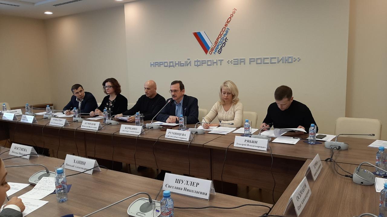 Представитель АРДИП Светлана Шуллер приняла участие в заседании ОНФ АРДИП