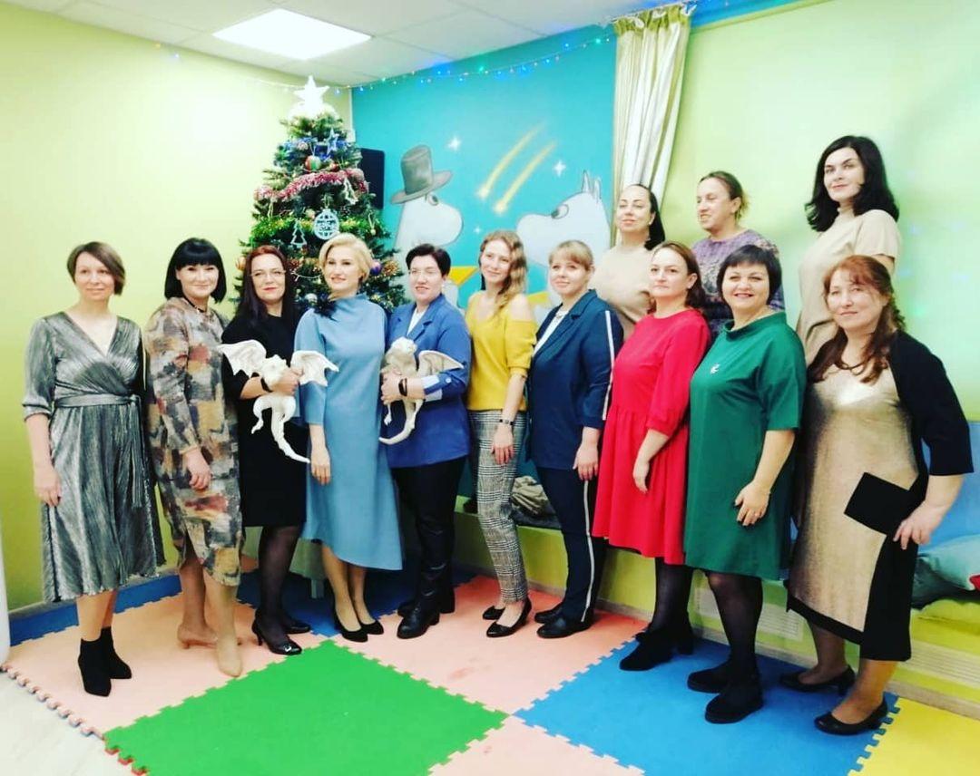 8 января в Ивантеевке встретились самые активные мамы проекта #ПРО_НЕЕ АРДИП