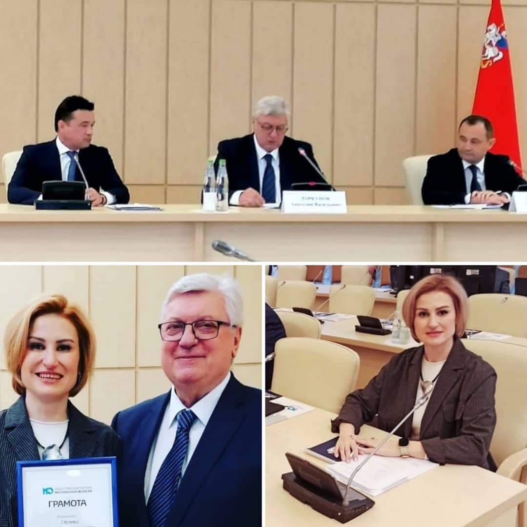 Инна Орлова приняла участие в Пленарном заседании Общественной палаты Московской области АРДИП